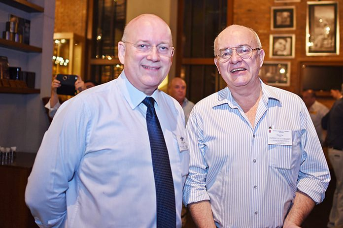 Graham Macdonald MBE, chairman of the SATCC and Stephen Frost, Director, Bangkok International Associates.