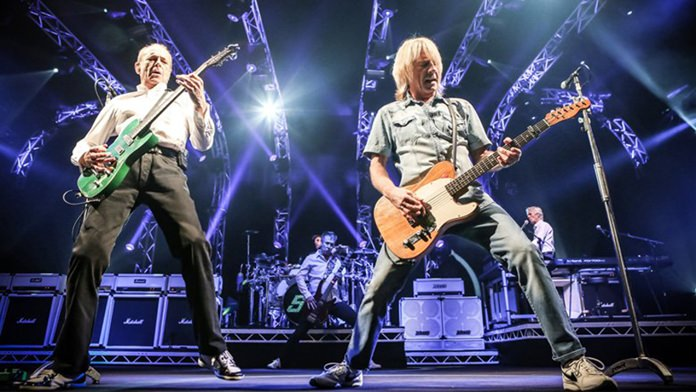 Rick Parfitt (right) of the band Status Quo has pulled out of this year's summer tour after suffering a heart attack.