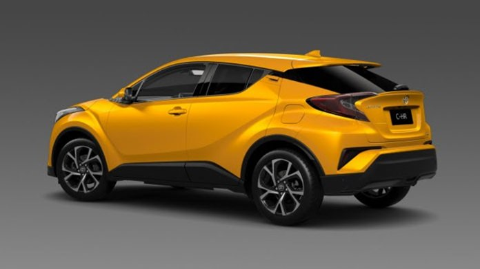 A Toyota – not a Nissan Juke or Honda HR/V.