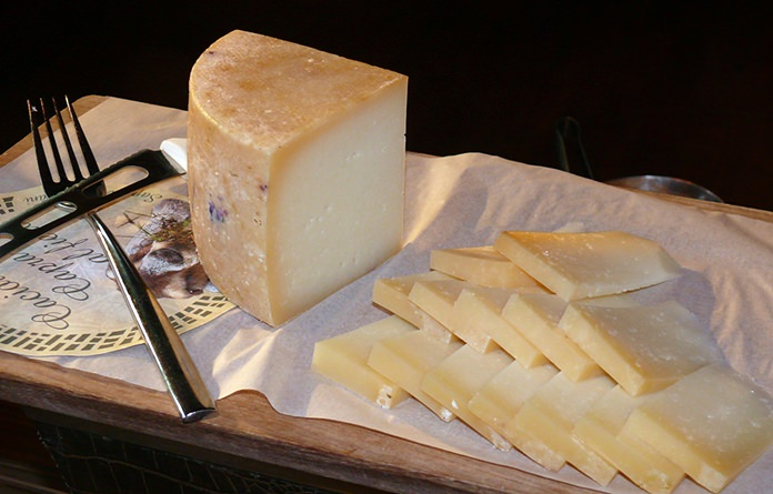 What goes with wine? Cheese!