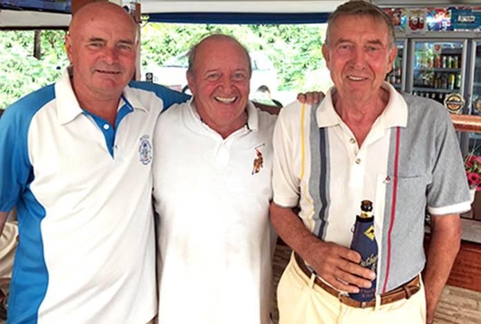 (L-R) Steve Mann, Gerard Lambert and Eddie Beilby.