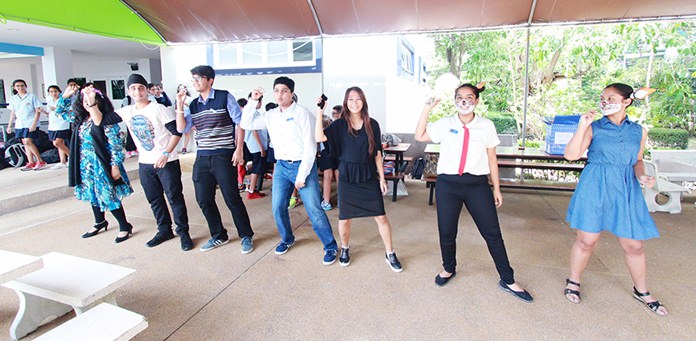 IB students performed their own Roald Dahl dance at lunchtime!