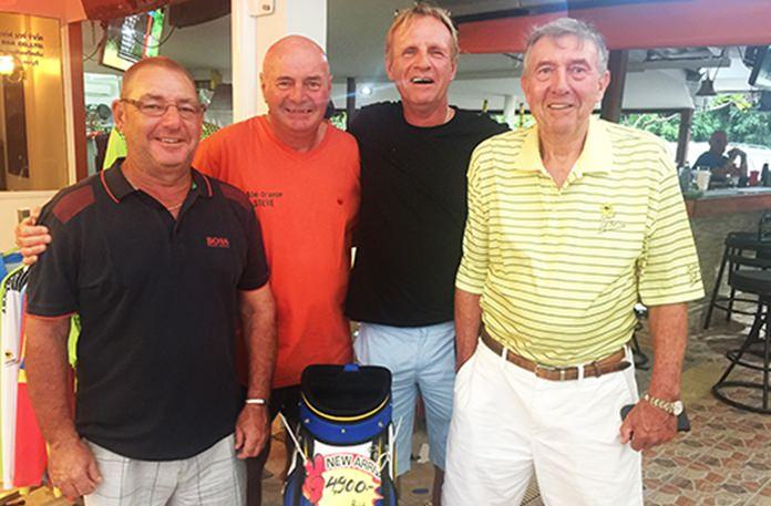 (L-R) Micky Beresford, Steve Mann, Roy Steinbach and Eddy Beilby.