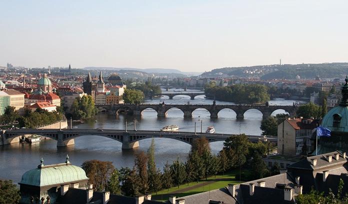 Vltava River in Prague. (Photo: Petr Novák, Wikipedia)