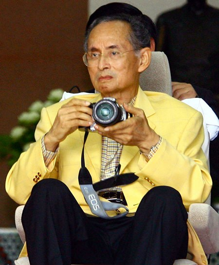 His Majesty the King was a lifelong keen photographer, receiving his first camera at the age of 8 as a gift from his mother. (AP Photo/Wason Wanichakorn)