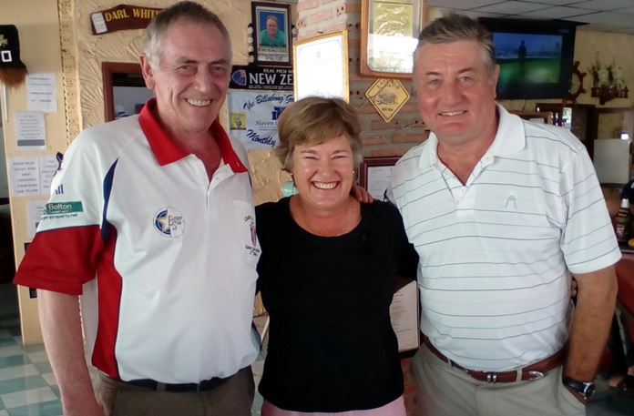 (L-R) Ramsay Smith, Julie Battersby and Rick Culley.