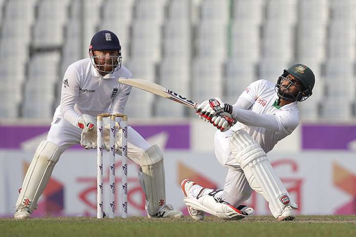 Bangladesh recover in 2nd test, lead England by 128