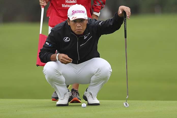 Matsuyama keeps 3-shot lead at HSBC Champions
