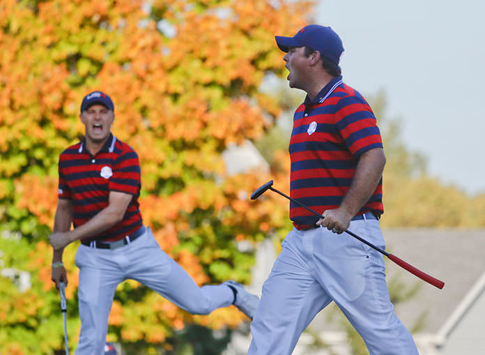 Americans win 1st Ryder Cup since 2008
