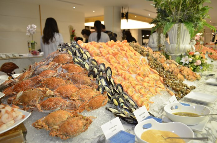 Seafood & International buffet dinner at A One Hotel.