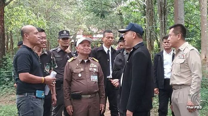 The Bureau of the Royal Household has selected four dead-standing sandalwood trees for use in the royal cremation ceremony of HM the late King Bhumibol Adulyadej.