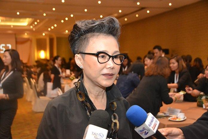 Srisuda Wanpinnosak, deputy governor of marketing for TAT's Asia-Pacific region.