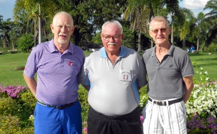 Kai Aabling and Henning Olsen with Dave Richardson.
