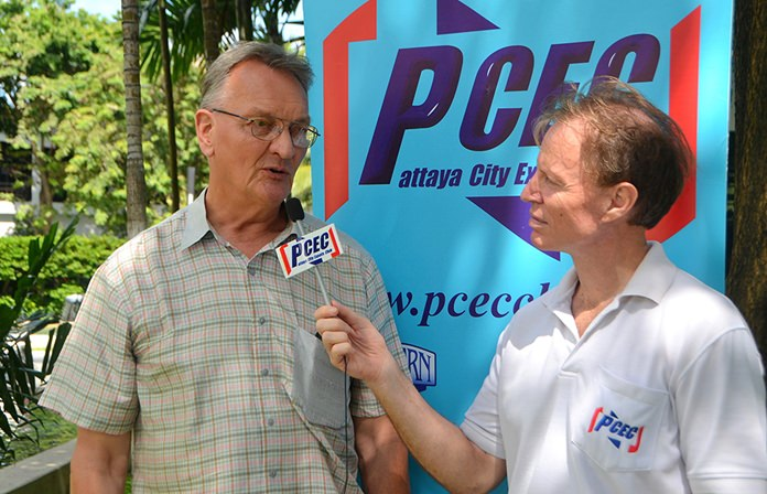 Member Ren Lexander interviews John Lynham after his presentation to the PCEC. The video can be viewed at: https://www.youtube.com/watch?v=P8TgBM8wrFk&t=15s.