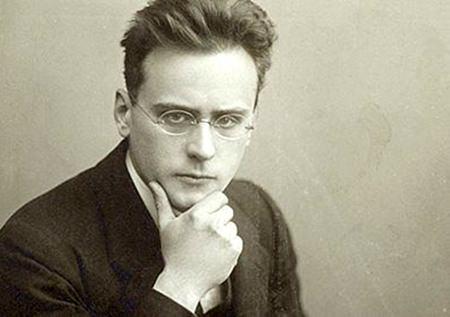 Anton Webern in 1911.