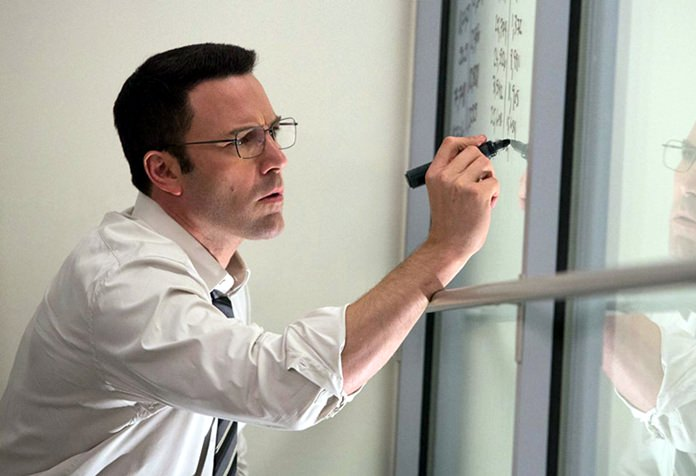 """Ben Affleck appears in a scene from """"The Accountant."""" (Chuck Zlotnick/Warner Bros. Pictures via AP)"""