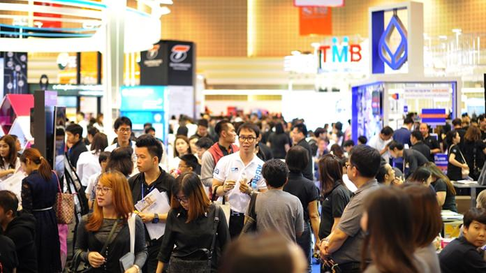 The 11th Money Expo at Central Plaza Chiang Mai Airport attracted 70,000 people from around the North interested in investment opportunities, loans and credit cards.