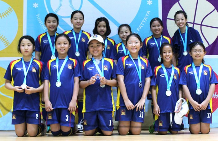 BIS Ho Chi Minh girls took the Tee-Ball silver medal.