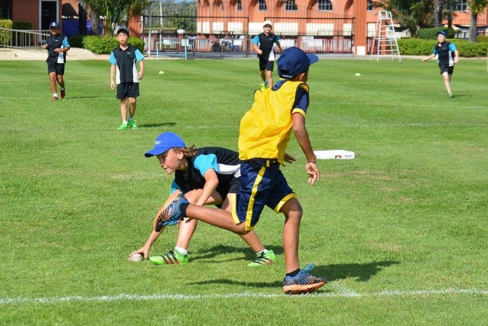 Quick reactions from the Regents Tee-Ball fielders v St Andrews.