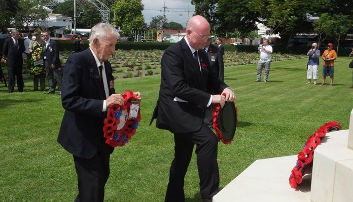 Archie Dunlop BEM and Graham Macdonald MBE.