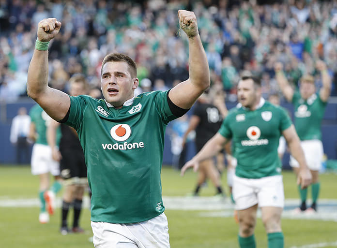 Ireland beat All Blacks for first time in 111 years