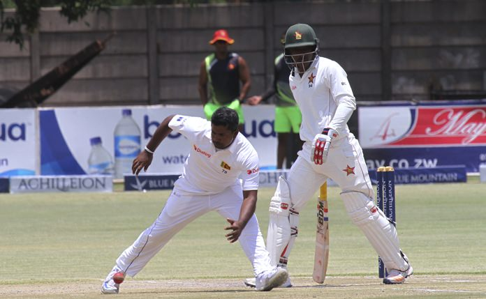 Herath puts Zimbabwe in a spin as Sri Lanka extend lead