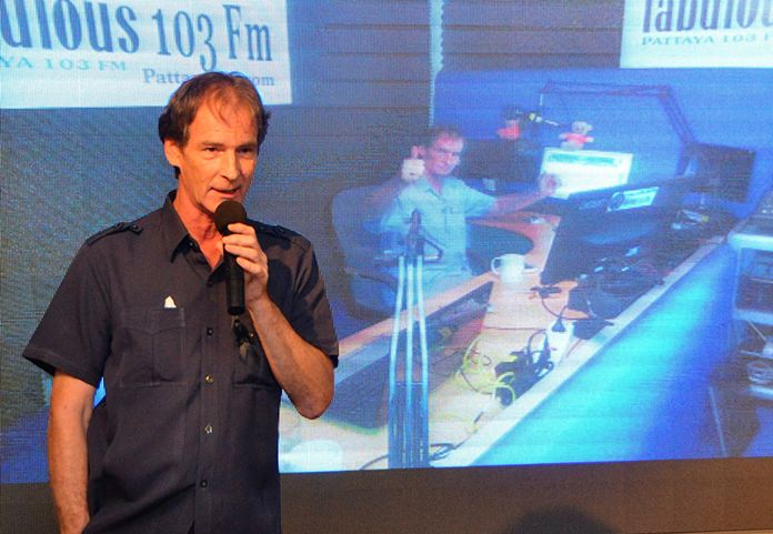 Tommy Dee explains how he started out with his radio career in Pattaya as more a hobby than a means to make money and how much he loves the radio business.