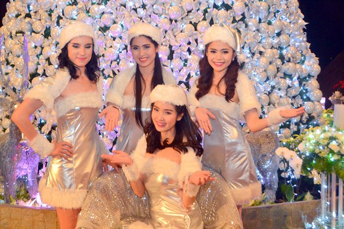 What's a Christmas tree without Angels? We were lucky to have these take part in the show.