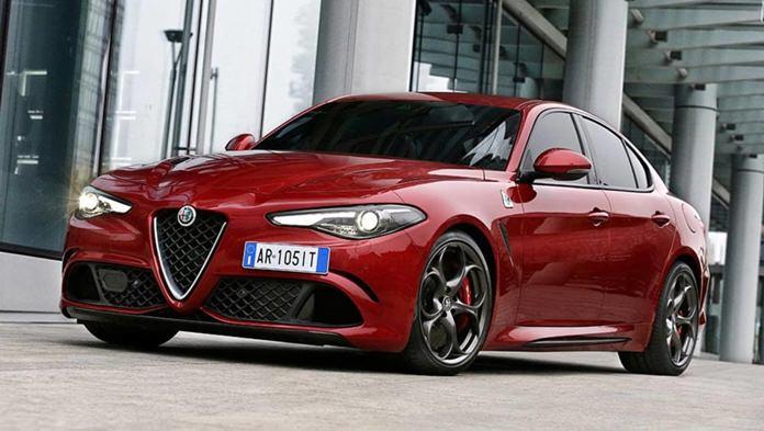 New Alfa Romeo Giulia.