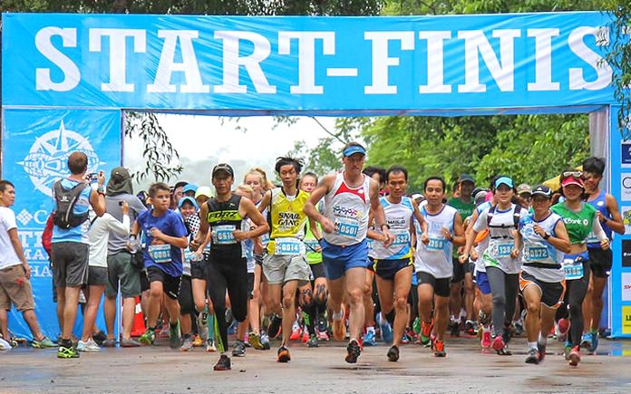 Cross-country running returns to Khao Mai Keow in East Pattaya on January 22 for the inaugural 'Champion of the Trails' event. (Photo courtesy AMA-Events)