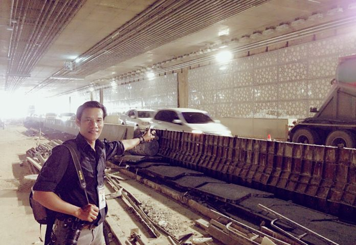 Pattaya Mail reporter gets an exclusive look into the tunnel during its brief opening
