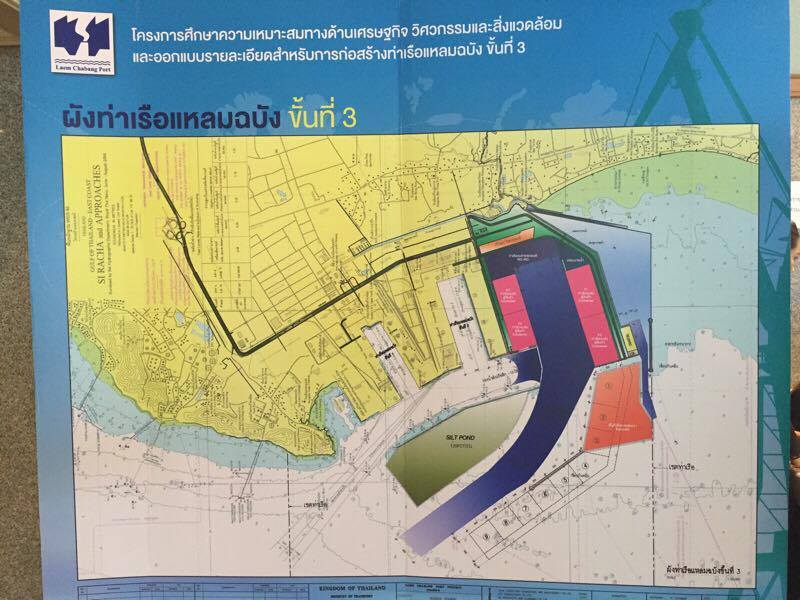 Phase 3 would expand the port's main pier to 5 kilometers and dredge the channel to 18.5 meters. Inside the harbor, there would be two container ports stretching 750 meters.