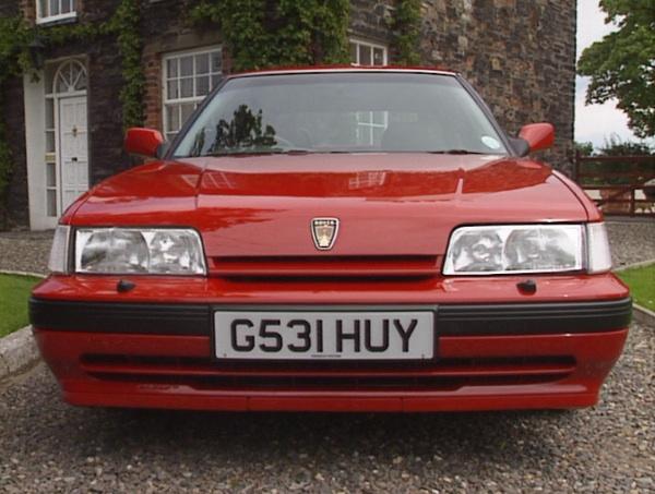 Rover 825i.