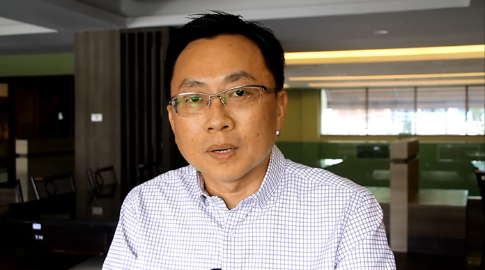 Sinchai Wattanasartsathorn, president of the Pattaya Business & Tourism Association.