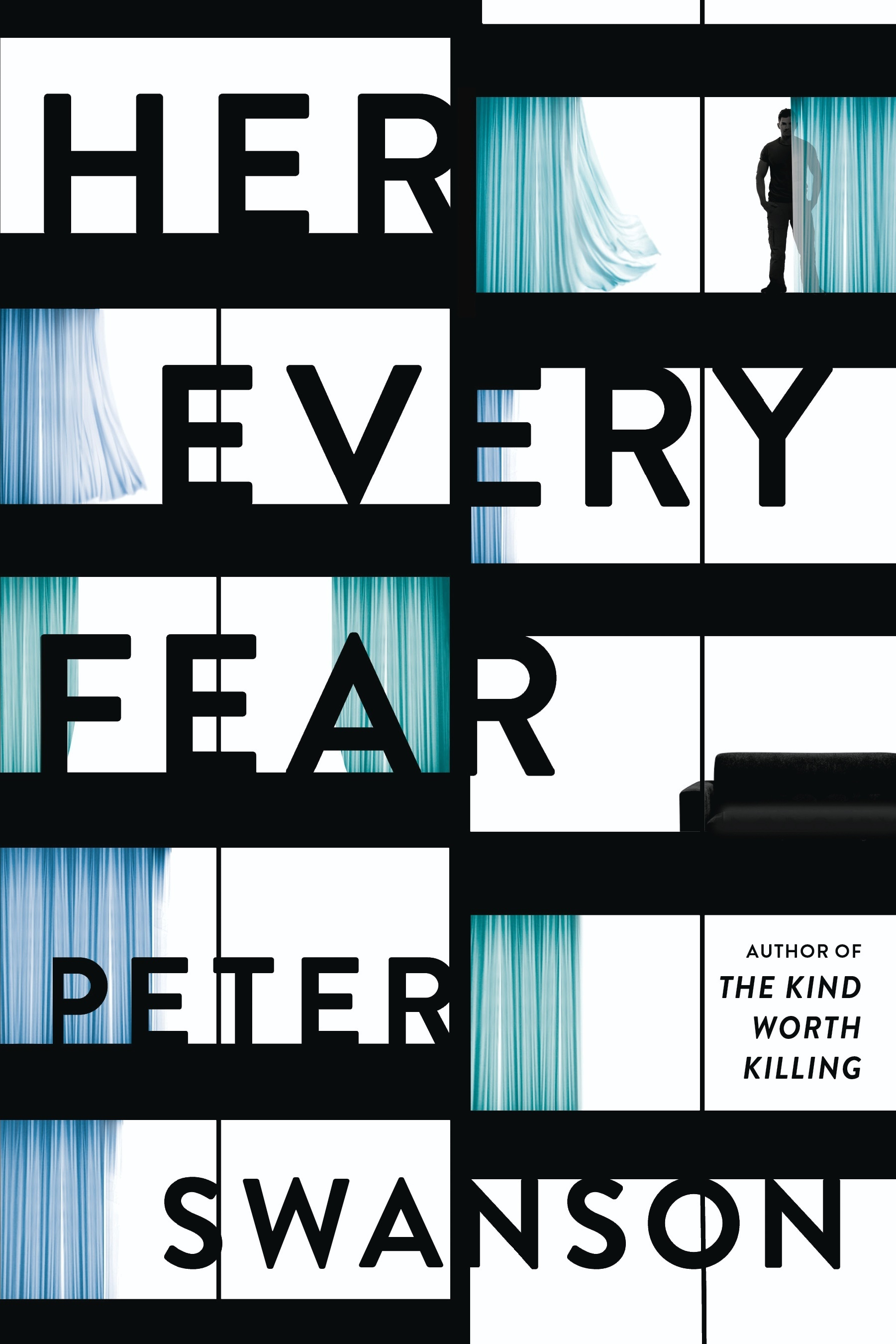 "This image provided by William Morrow shows the cover of the book ""Her Every Fear"" by Peter Swanson. Swanson tells an engaging story of a woman battling severe anxiety who decides to radically change her life and the horrifying results that following in ""Her Every Fear."" (William Morrow via AP)"