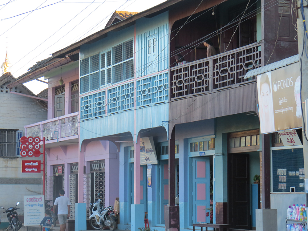 Kengtung retains much of its charm with old wooden buildings in good repair lining the narrow winding streets.