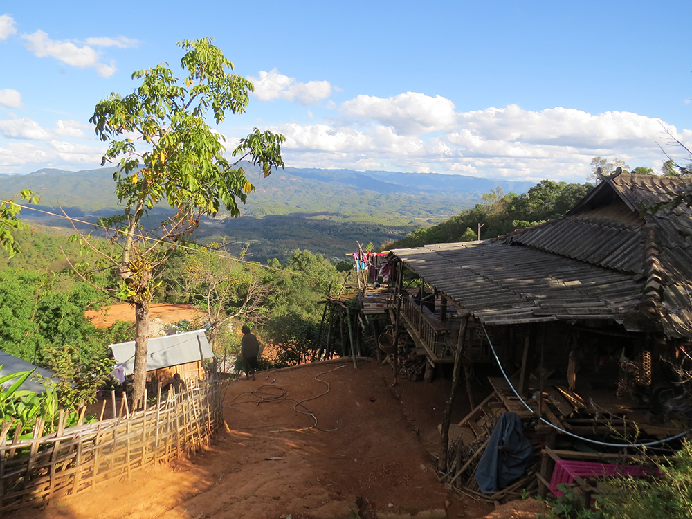 Eng villagers live in bamboo and wooden homes high above the valley and eschew the modern life, living the traditional animist ways.