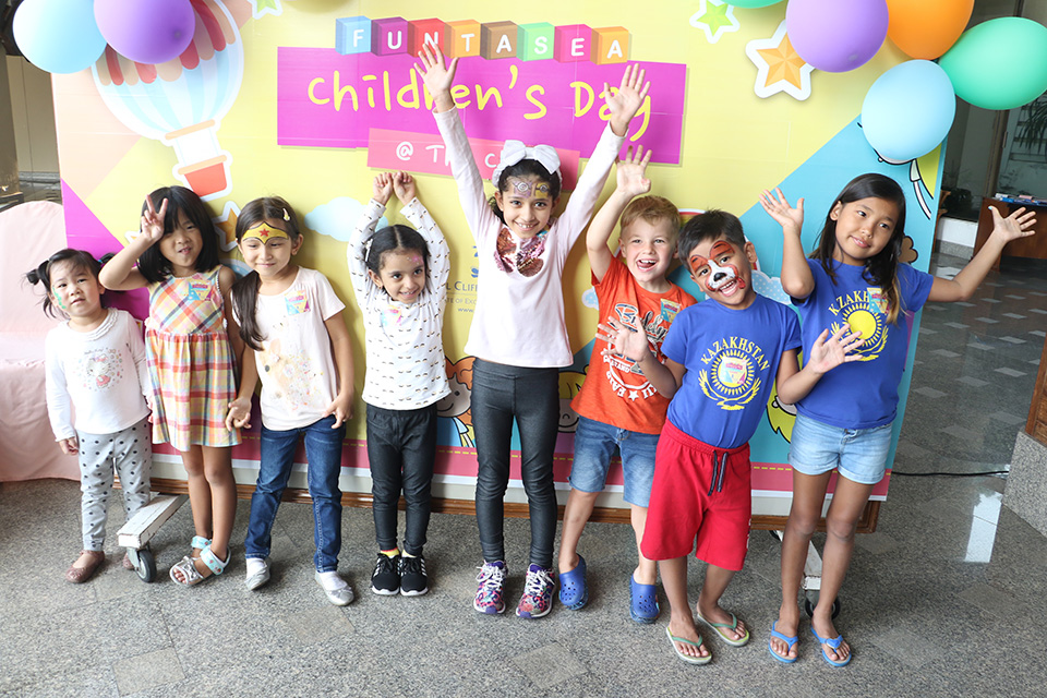 Kids celebrated a memorable Children's Day with fun, laughter and games at the Royal Cliff Hotels Group, Pattaya.