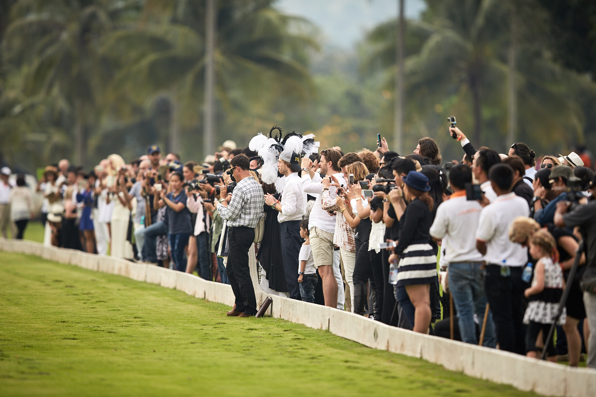 Equestrian fans and socialites turned out in large numbers to enjoy the day.