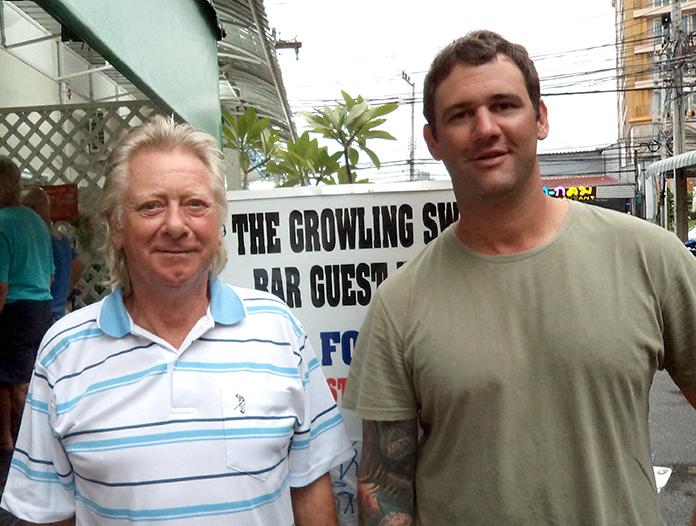 Keith Buchanan & Andy Zwart.