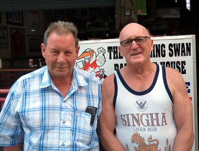 Mark Stapleton & Mick Wilks.