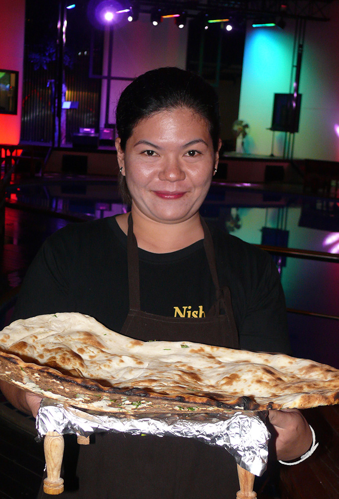 The world's largest Nan bread?