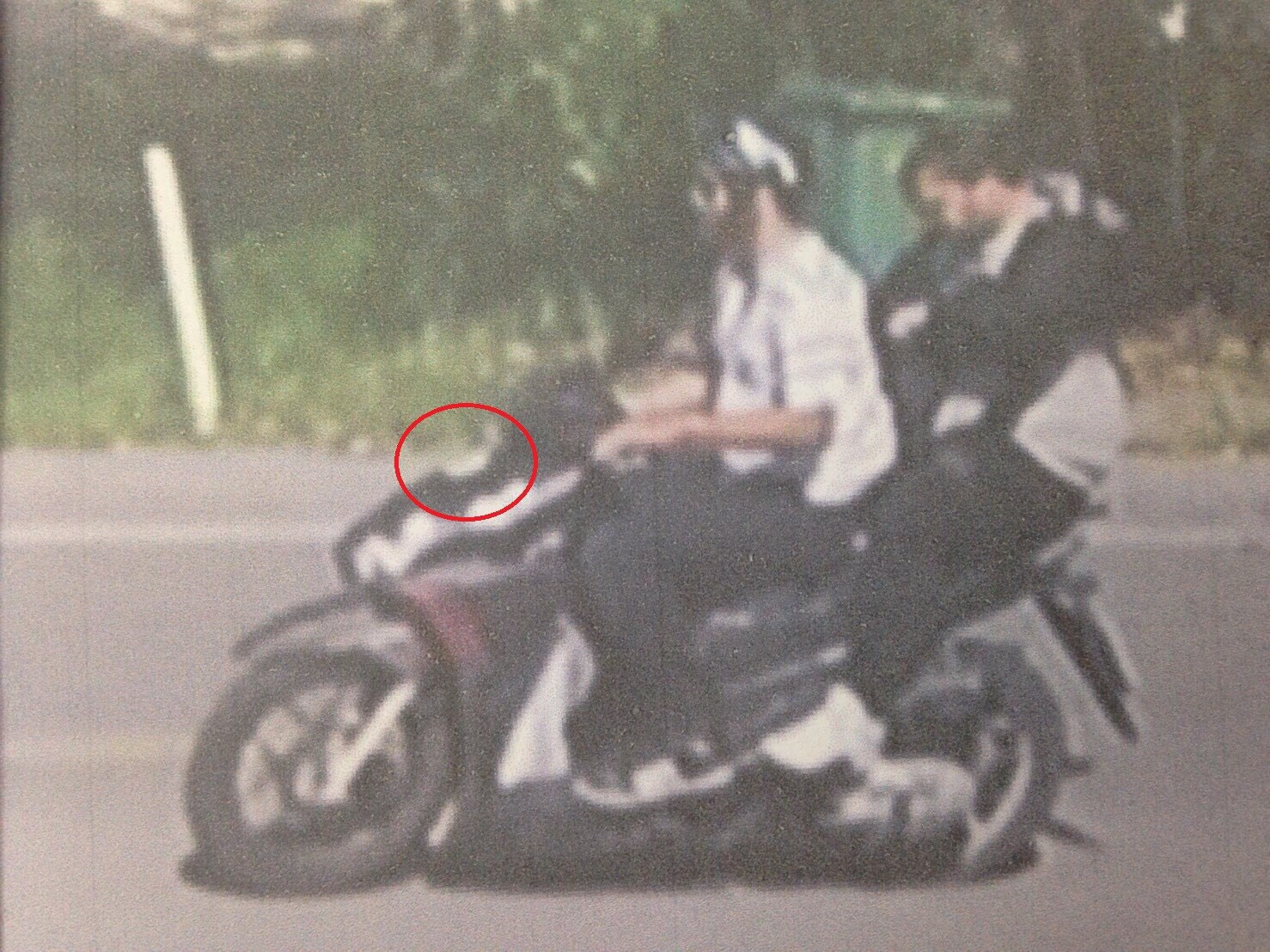 Thai police quickly identified the suspects by tracing the motorbike they rented using their original passports.