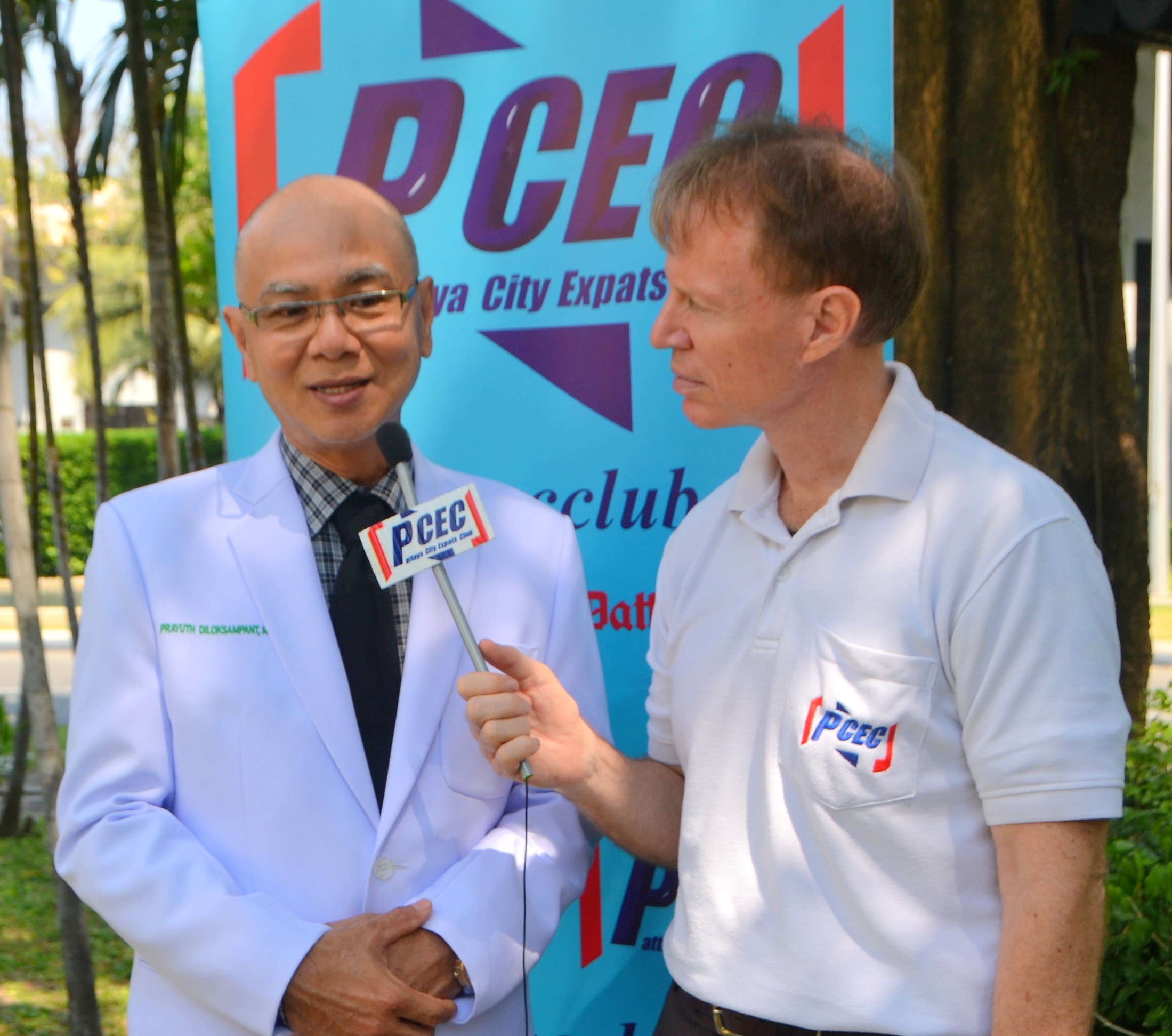 Member Ren Lexander interviews Rayuth Diloksampant, MD, about his just completed presentation to the PCEC. To view the video, visit https://www.youtube.com/watch?v=lOwUH09DbKE&t=4s.