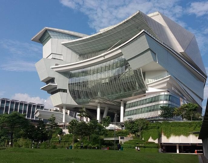 The amazing Star Theatre in Singapore.