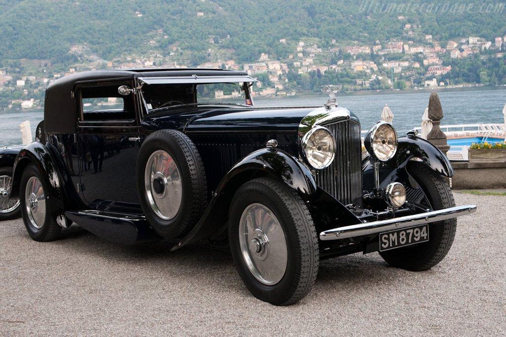 Bentley 8L.