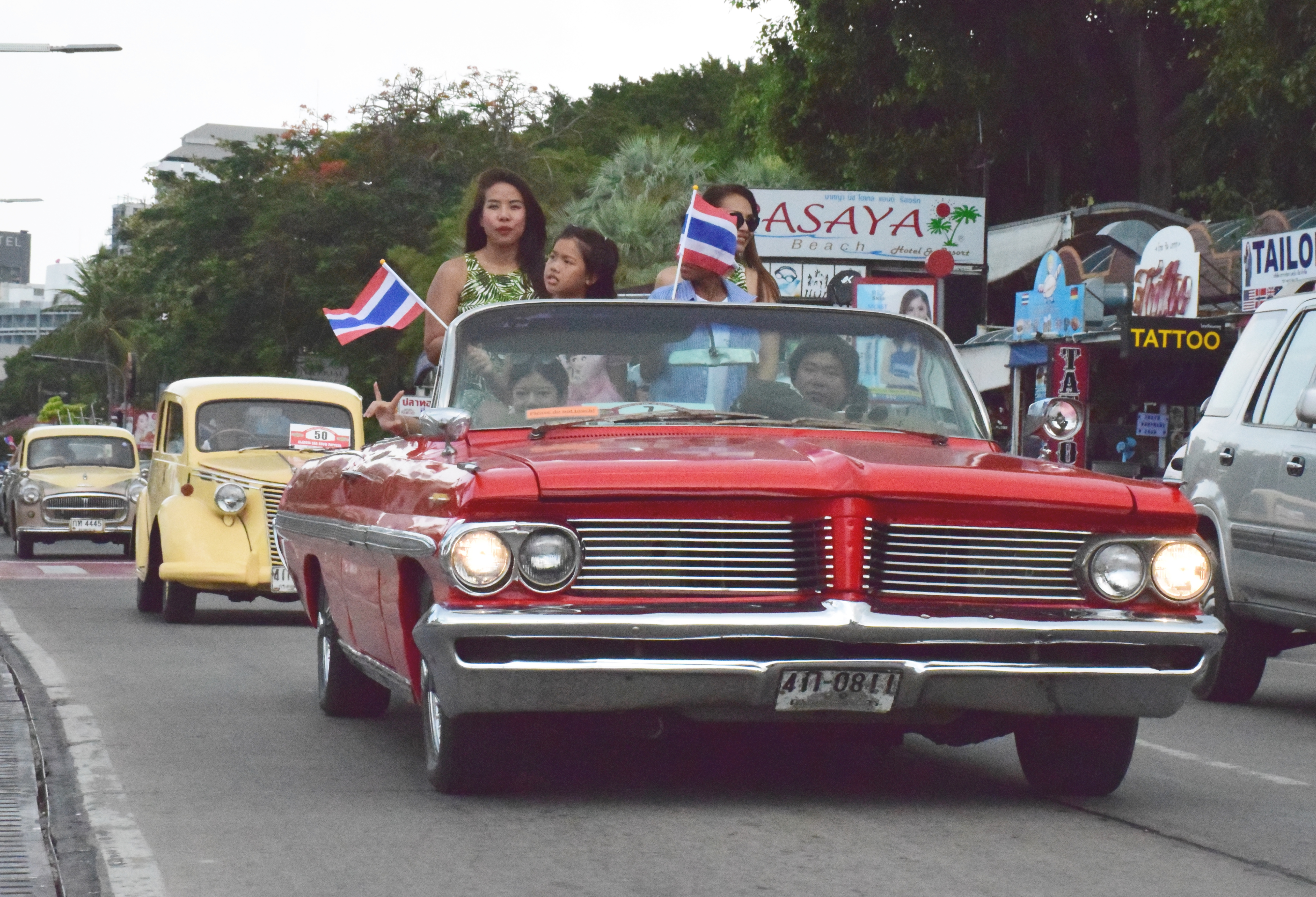 Pattaya Classic Car Show Breaks All Records Pattaya Mail - Classic show cars
