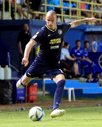 Pattaya United's Milos Stovanovic. (Photo/Pattaya United FC)