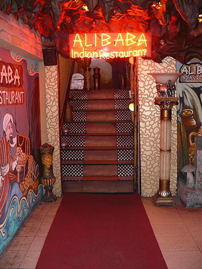 "Say the magic words ""Open Sesame"" as you enter Ali Baba's cave."