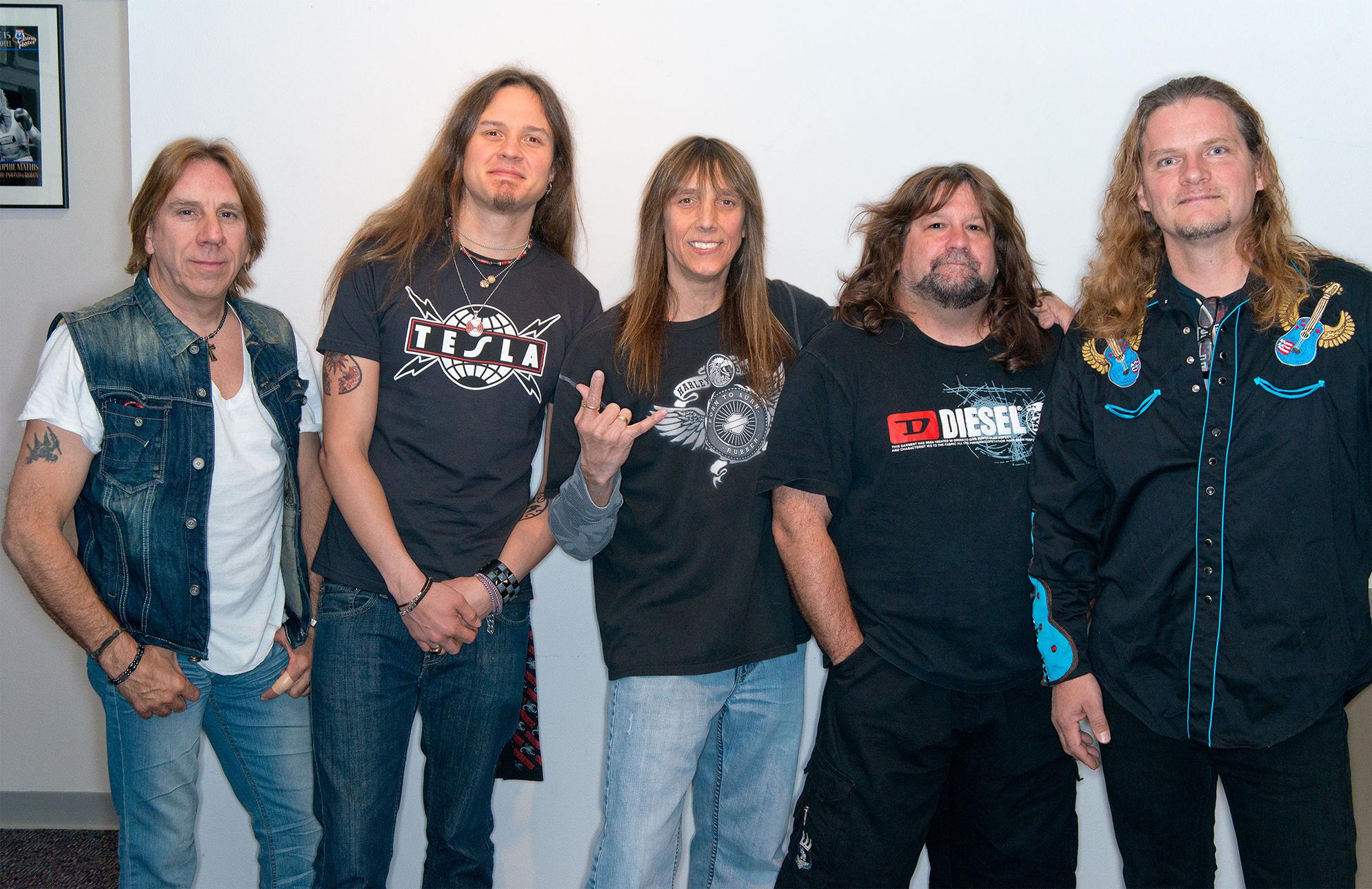 American hard rock band, Tesla.